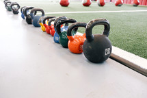kettle bells free weights