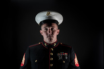 portrait of a marine