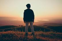 Facing forward toward the sun | Dreams | Determination | Youth | Vision | Child | Children