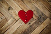 repaired broken heart