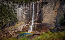 Vernal Falls, Yosemite.