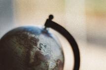 A globe.
