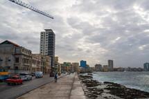 a coastal city