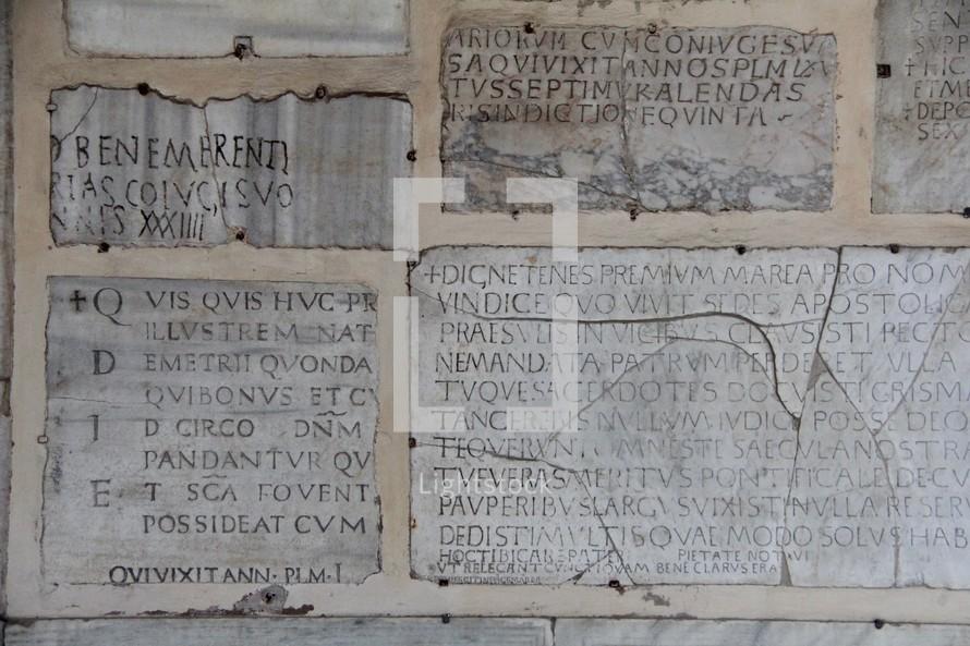 Ancient Latin Writings