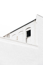 old white building