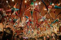 Mariachi Bar with pinatas