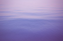 purple water surface