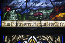 I am the resurrection and the the life