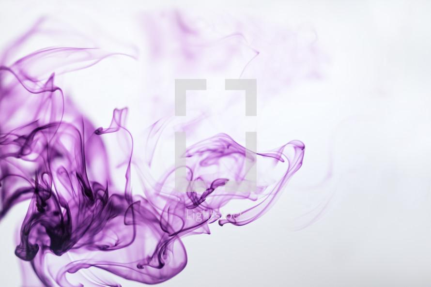 purple ink