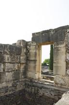 ruins in Israel