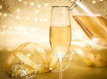 Celebration Champagne Background