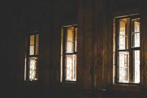 sunlight through open windows