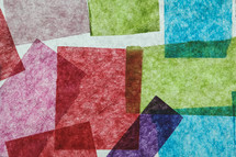 colored tissue paper abstract background
