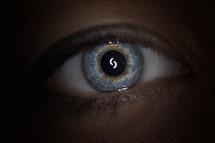 target in eye