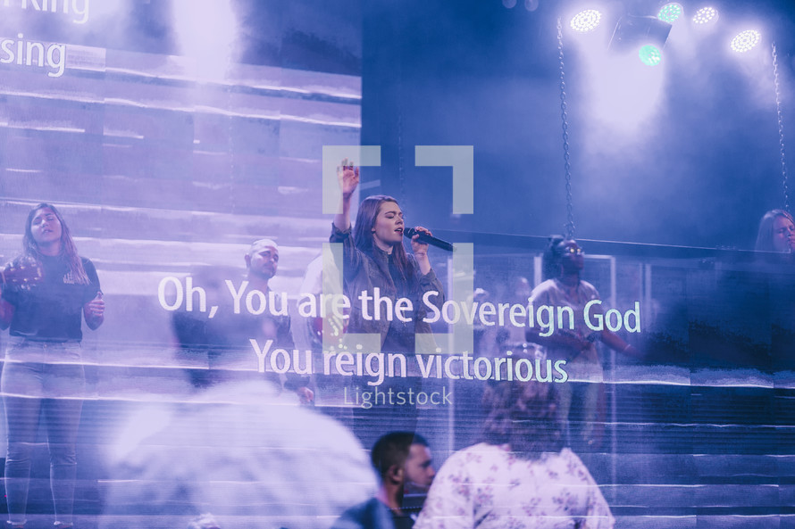 Oh, You are the dovereign God you reign victorious