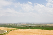 A view of the valley of Armageddon from Megiddo.
