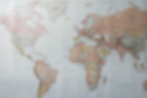 blurry image of a world map