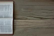A Bible open to Galatians