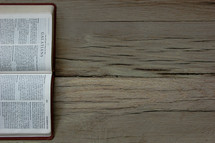 A Bible open to Galatians