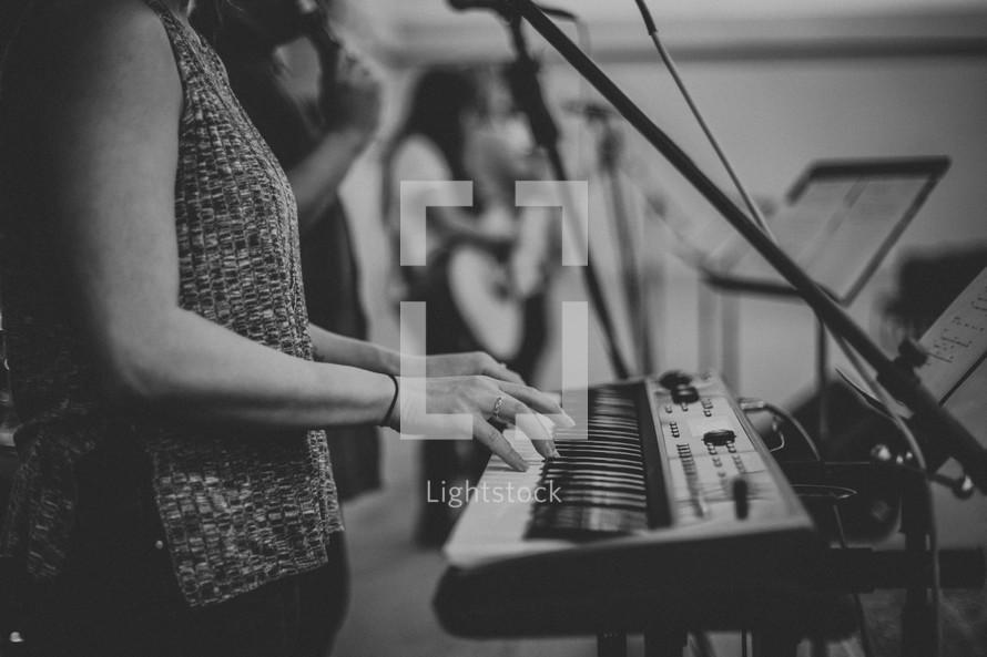 worship leaders in song