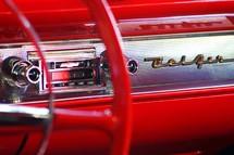 1957 Chevrolet Belair dash steering wheel