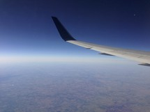 wing of a plane