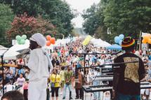 Reggae music concert