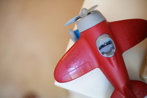 plastic toy airplane