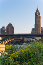 bridge in Columbus, Ohio