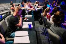 prayers at an Adult Sunday School class