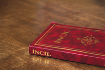 Incil, the New Testament in Turkish.