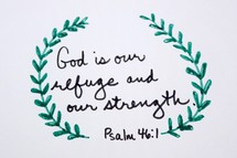 God is our refuge and our strength, Psalm 46:1