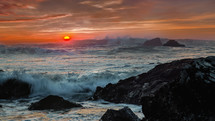 angry seascape