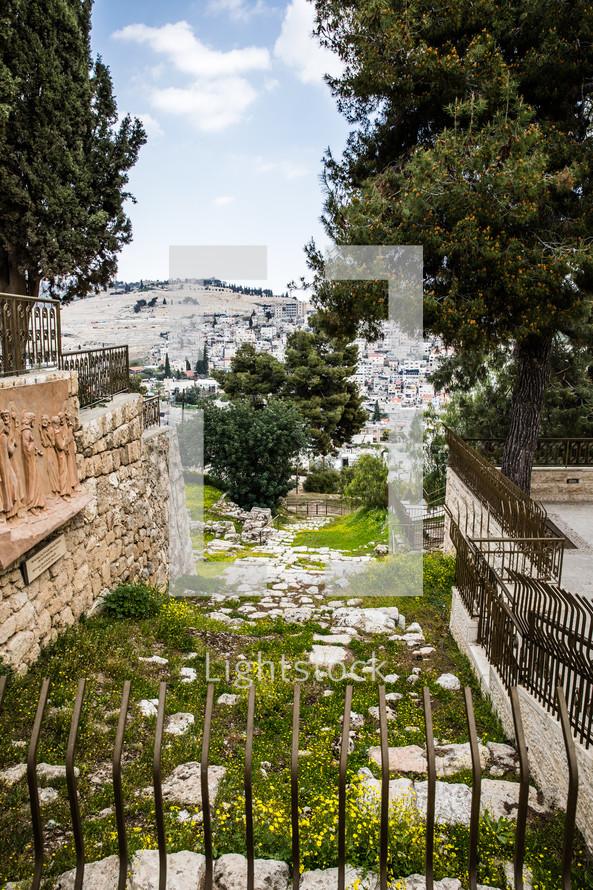 ruins in Jerusalem