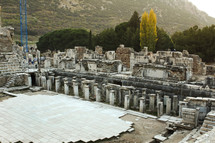 Theatre where the riot at Ephesus took place in Acts 19.
