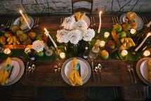 romantic summer table settings