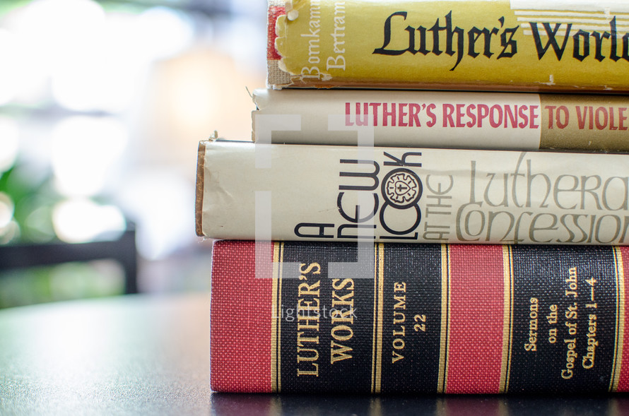Luther's Works books