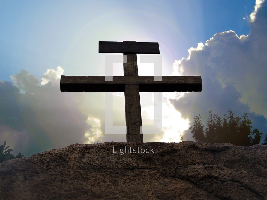 The old rugged cross.