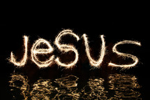 Jesus - Light of the World, light on our pathway, light in the darkness, light of our lives.