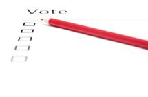 vote and ballot