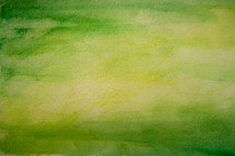 green water color background