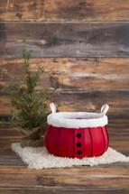 Christmas photo studio