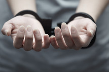 hand-cuff woman