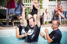 baptism in a pool