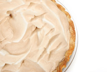 meringue on a pie