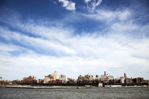cityscape across a bay