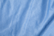 blue sports jersey texture background
