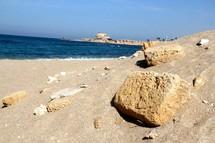 Mediterranean Sea from Caesarea