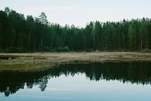 Still reflection on a lake