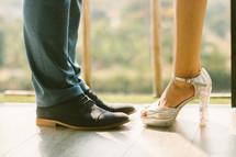 couples feet